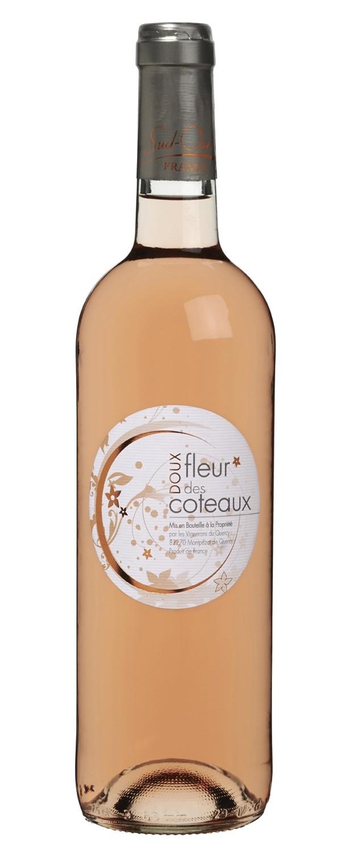 vin rosé doux fleurs des côteaux - coteaux du quercy aoc