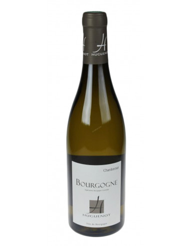 vin blanc sec bio chardonnay bourgogne aoc domaine huguenot. Black Bedroom Furniture Sets. Home Design Ideas