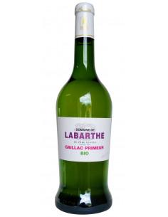 Vin blanc Primeur bio 2017 - Gaillac AOC - Domaine de Labarthe