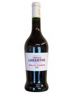 Vin rouge Primeur bio 2016...