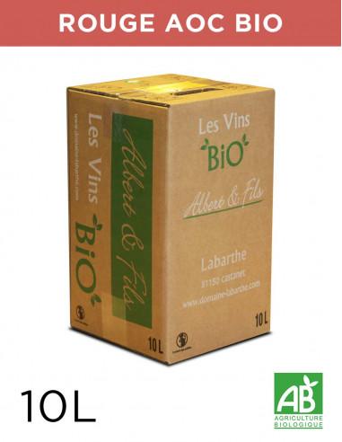 Vin rouge GAILLAC 13.5° 10L Gaillac AOC Bio