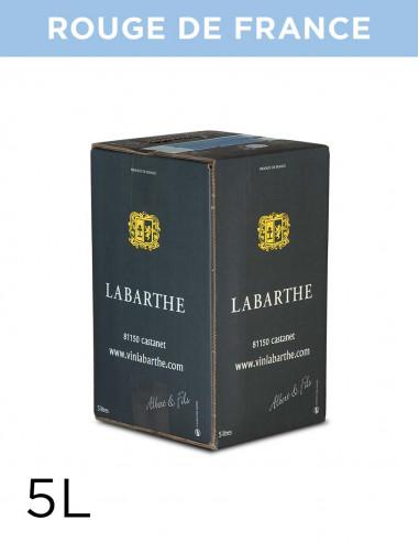 Vin rouge de France 11,5° 5L