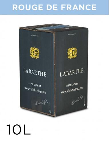 Vin rouge de France 11,5° 10L