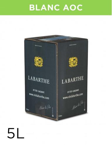 Vin blanc sec 12° 5L Gaillac AOC